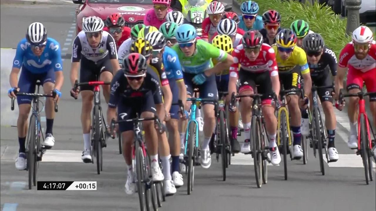 Itzulia Basque Country - Brandon McNulty takes overall lead as Ion Izagirre wins dramatic Stage 4
