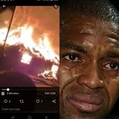 Itumeleng Khune Sister Past Away And his Parents House Burned To Ashes(Watch Video)