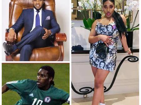 Meet super eagle former player Austin JayJay Okocha's beautiful daughter.