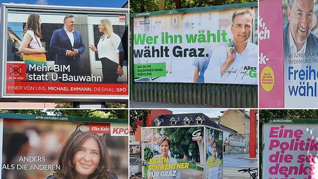 Graz wählt |Wie die Parteien mit ihrem liebsten Feindbildern Wähler mobilisieren