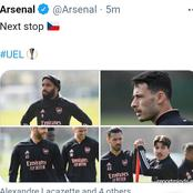Arsenal Provides Fitness Update On Injured Players As They Prepare To Travel To Face Slavia Prague