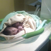 Dama as Man Rescues Dumped New Born Without Knowing It's his Biological Son