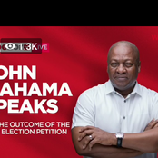 The Difference Is Clear. Ghanaians Reacts After Mahama Addressed The Media Over Rejected Petition