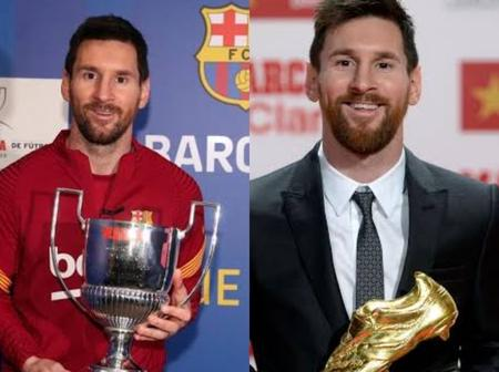 Check Out The Number Of Top Goalscorer Awards Lionel Messi Has Won In Europe and La Liga