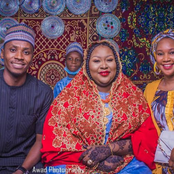 Photos Of Kannywood Actress, Bintu Dadin Kowa, Ibrahim IB And Yana Who Is Getting Married This Week