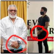JJ: See What JJ Rawlings And His Son Kimathi Rawlings Have In Common That Most Ghanaians Don't Know