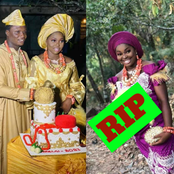Photos: See The Beautiful Lady That Died After Her Traditional Marriage ceremony