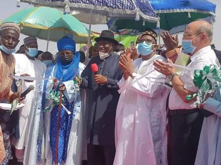 Goodluck Jonathan reacts after road was named after him by Bauchi State Government