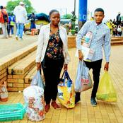 Angry Girlfriend demand clothes, Grocery and IPhone bought for her boyfriend after getting Dumped.