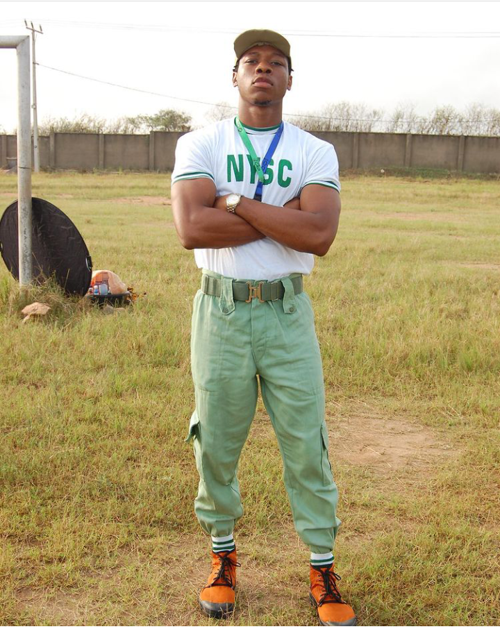 Check Out Pictures Of Ultimate Love Star, Iyke During His NYSC 10