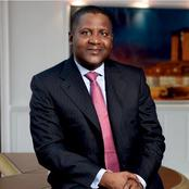 """""""Dangote Still The African's Richest Man?"""" Check The Latest List"""