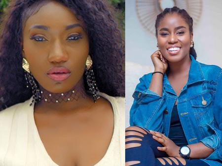 No makeup photos of MzVee and Wendy Shay - Who is the real beauty?