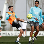 Photos: Real Madrid's Player Gearing Up For Madrid Derby