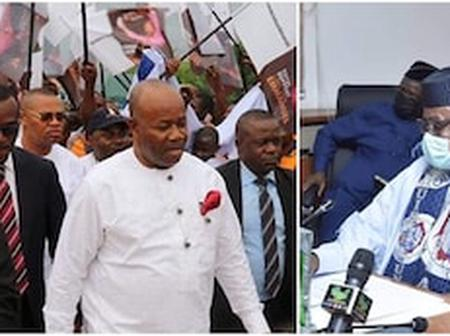 APC Sacks Godswill Akpabio as Party Leader, Gives Reason For Decision