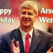 Retired Nigerian footballer sends birthday message to Arsène Wenger