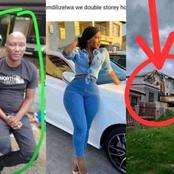 A rich businessman destroyed a big house he built for his girlfriend