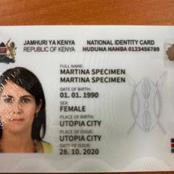 What Your Huduma Card Will Contain That is Different From The Current National ID