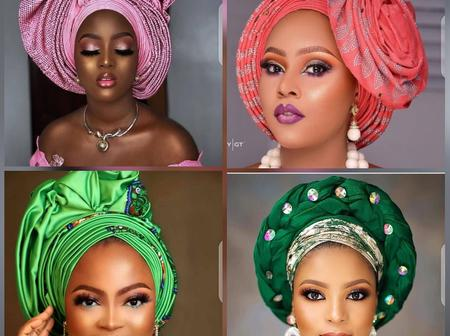 Dear Mothers, Check Out These 20 Gele Styles You Might Like To Wear
