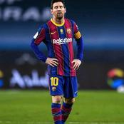 The Unexpected Happens To Lionel Messi In His Barcelona Career