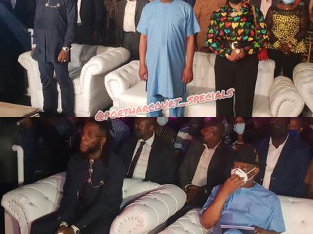 Aside Giving Each Artiste 10 Million Naira, See What Gov Wike Gave Burna Boy That Sparked Reactions