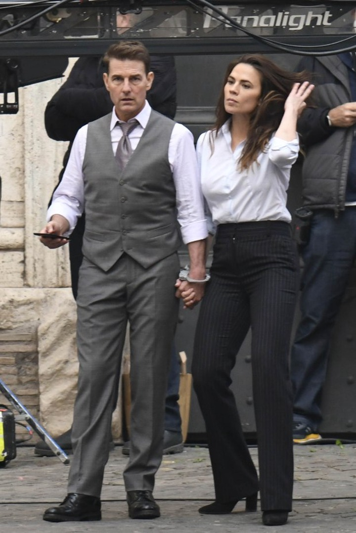 Actor Tom Cruise, 58, reportedly dating Mission: Impossible 7 co-star Hayley Atwell, 38, after
