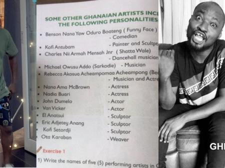 Funny Face's name get featured in a Creative Arts textbook