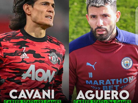 Between Cavani And Aguero, Who's The Better Player? See Their Career Achievements.