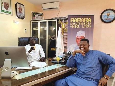 Hausa Musician, Kahutu Rarara Shares new photos with Bashir Maishadda
