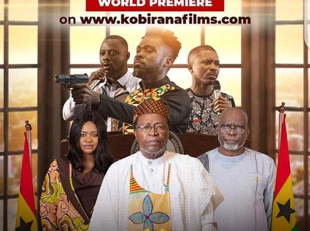Corruption, Greed, Family and Friends Government and Galamsey movie to be released this Esther.