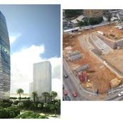 Les travaux du plus haut gratte-ciel du continent ont débuté à Abidjan : les images