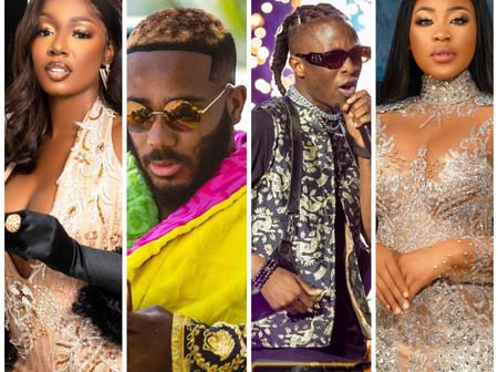 Laycon beat Erica, Kidd and Tbaj to become first BBN star to be awarded YouTube silver plaque