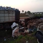 2 morts dans une collision par l'arrière entre 2 poids-lourds sur l'autoroute du nord