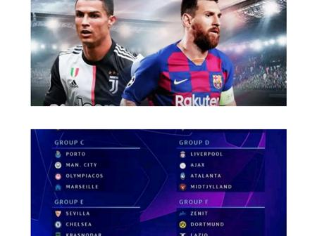 Champions League draw: Man Utd to Face PSG, Cristiano Ronaldo to meets Lionel Messi