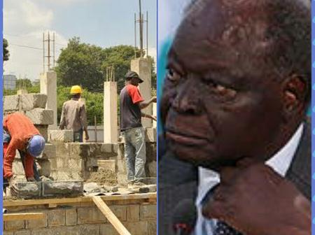 Mwai Kibaki Once Worked in Construction