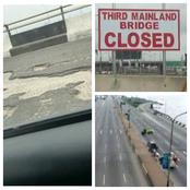 Lady Shared Weird Looking Photod of a Part of Third Mainland Bridge After Repairs