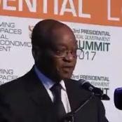 Watch-Zuma gave a declaration for the commencement of socialism in South Africa