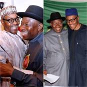 20+Adorable Photos Of Goodluck Jonathan And Muhammadu Buhari