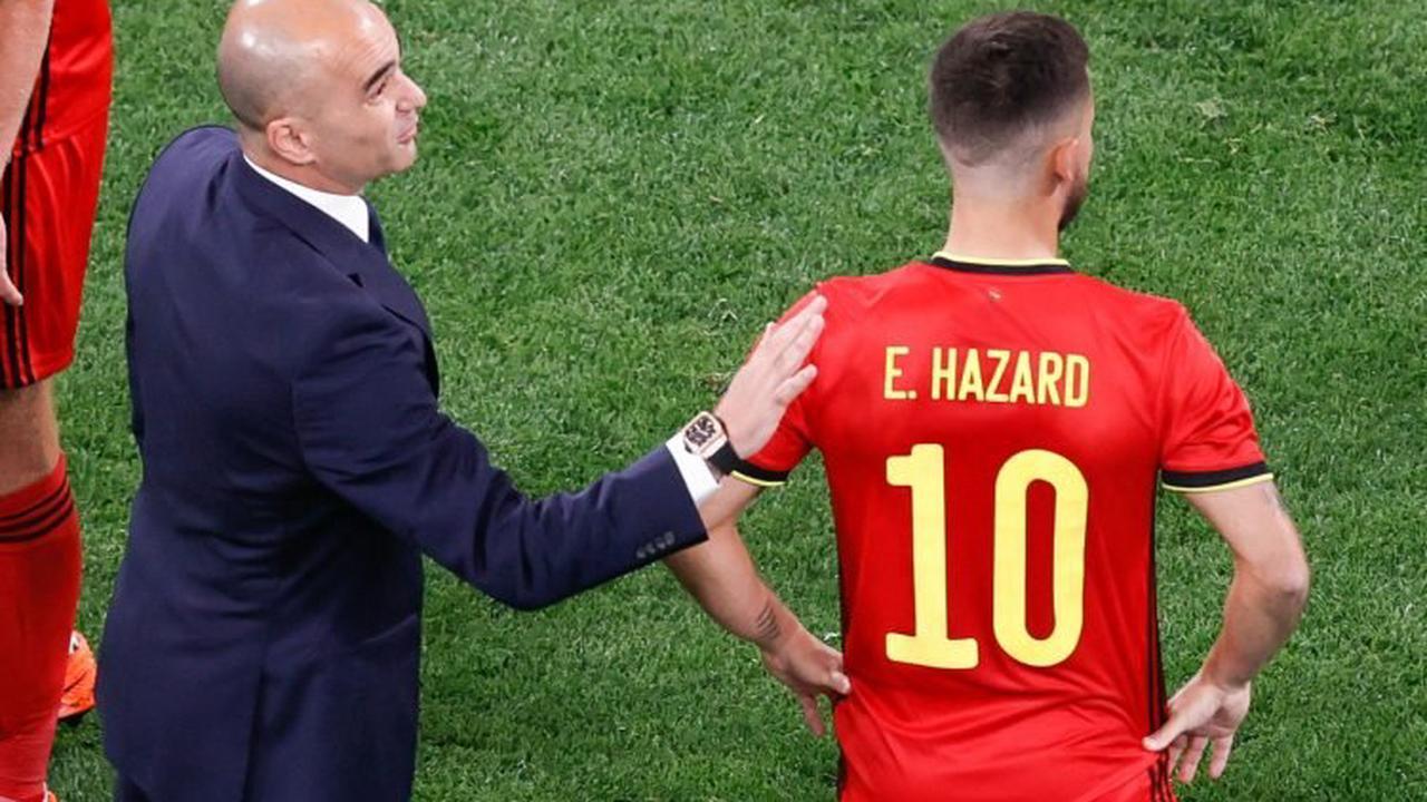 Belgique : Roberto Martinez encense Eden Hazard