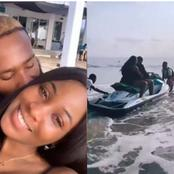 BBNaija: See The Moment Kiddwaya And Erica Flaunt Their Love At A Sierra Leonean Beach (Video)