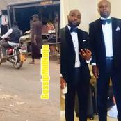 Shortly After Fans Reacted to Him Trekking on the Street, See What Davido's Lawyer Said