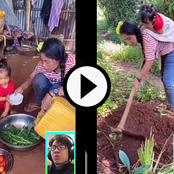 Video: See The Hard Life A Single Chinese Mother Is Passing Through Just To Provide Food For Her Kid