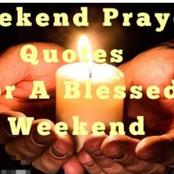 Weekend Prayer: Claim These Prayers For Saturday 27th February, 2021