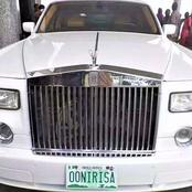 4 Nigeria Kings That Are Using Rolls-Royce Car