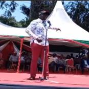 Dp Ruto Bodyguards Act Fast After a Lady Tried to Run Towards The Dp Forcing Him To Intervene -Video