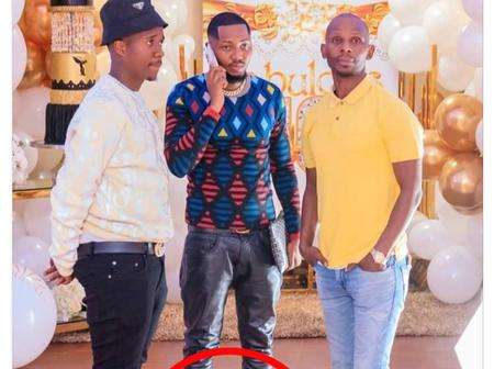 Andile Mpisane's friend makes people question their sexuality