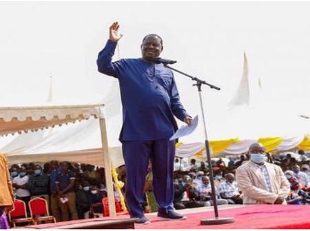 Raila Odinga Tells DP Ruto To Stop Calling Him A