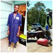 RIP! Motorcycle Riders Mourn Their Colleague Who Died In A Grisly Accident