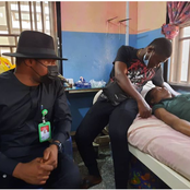 After Photo Of Ada Jesus Receiving Treatment In Hospital Surfaces Online, See Reactions