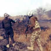 After Nigerian Soldiers Crushed Boko Haram Terrorists At Marte, Here Are Pictures Of Their Success
