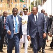 What Are They Up To? President Kenyatta To Meet Raila Two Days After Raila-Ruto Alliance Talk Emerge